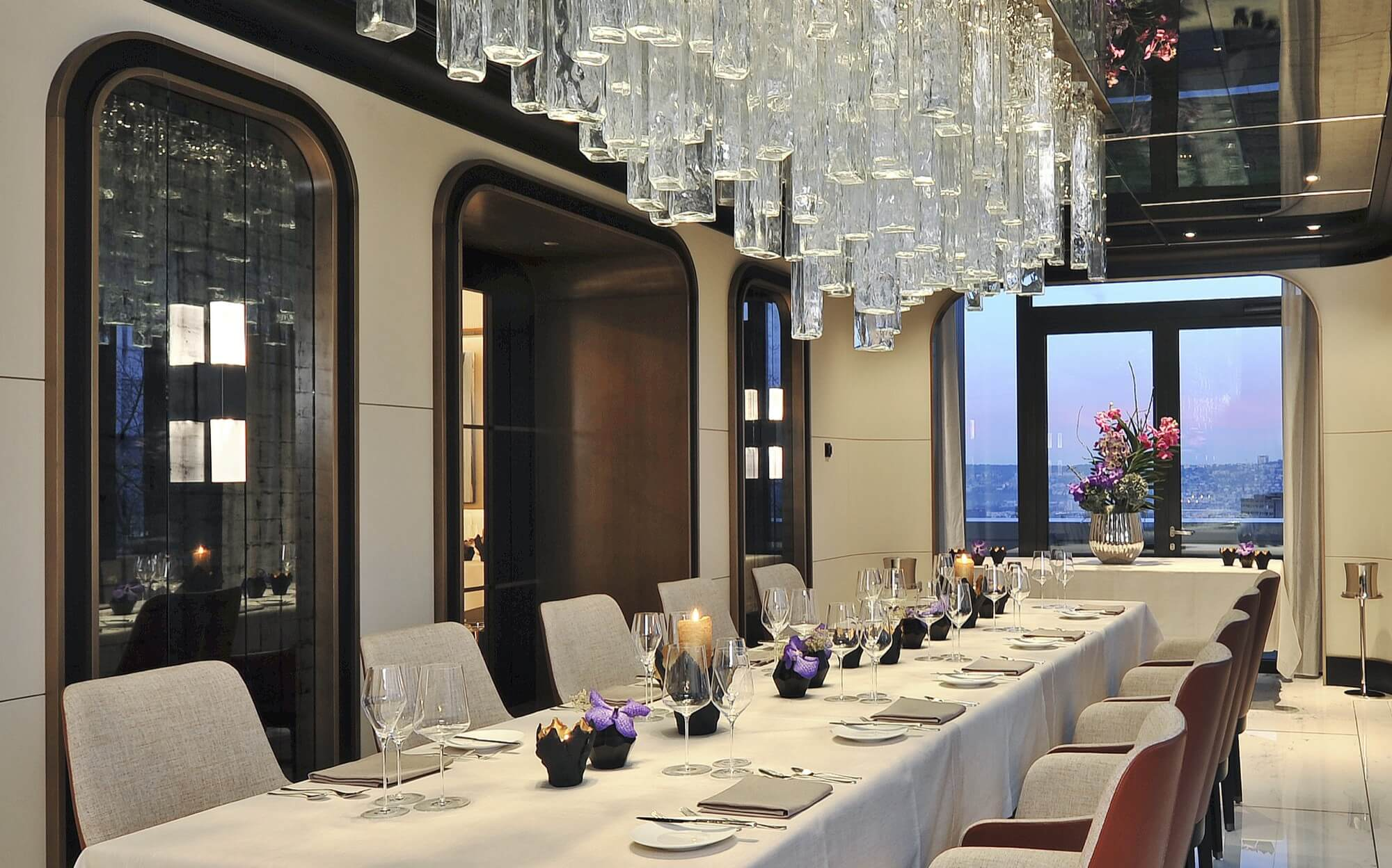 Private Dining Room Ecco Zrich Restaurant