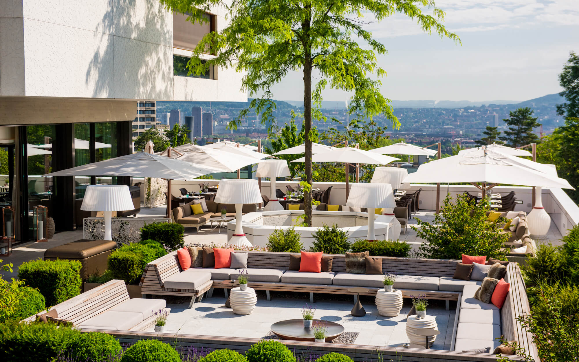Atlantis by giardino hotel zurich 39 s urban retreat for Terrace zurich